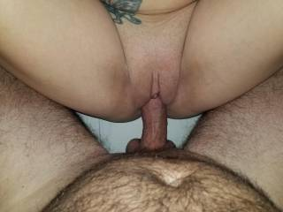 Her pussy is so tight. Those wonderful lips hug my cock