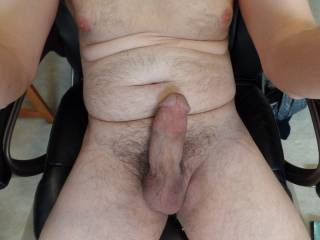 Getting hard while on chat
