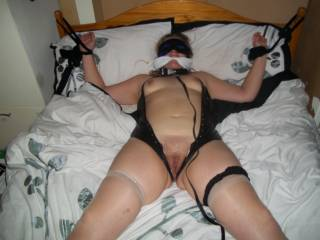missus tied up and