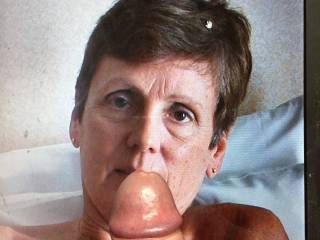 KellyDC got in touch and asked me to have a play around with her pics. KellyDC is a proper cum slut and has such a craving for cock. A truly great member.