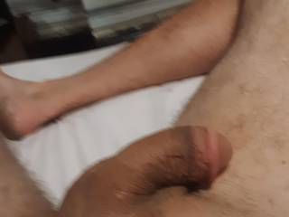 N e  one wanna  help me play with my cock?