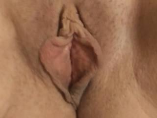 Sarahs pussy closeup