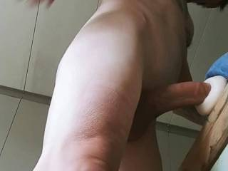 Stroking my Cock, Fucking my Fleshlite and Cumming. Tell me what you think.....