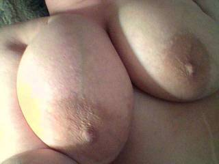 I would love to be sucking on your big tits while fucking your pussy!!!