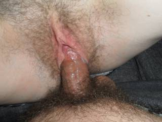 Fucking my wife when she didn't shave for a bit