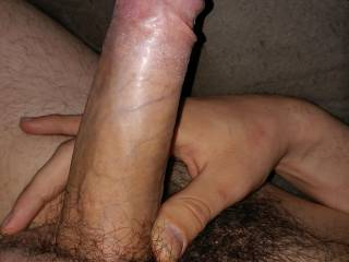 Who likes my large hard cock?