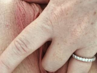 Anybody like a taste of this horny pussy?