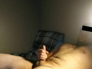 Best way to end the day is with a nice cumshot before bed. If any ladies want a tribute let me know. Haven\'t done one in awhile