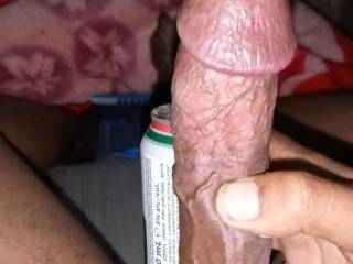 Dam didnt know how thick i was  who wants there pussy streched