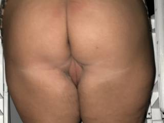 ass and pussy outdoors