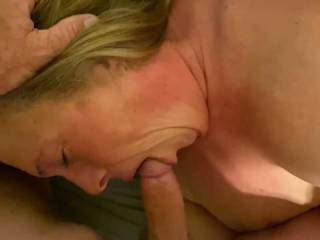 She loves getting face fucked