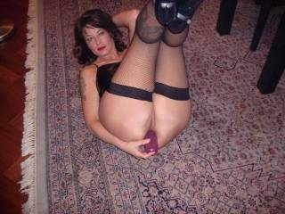 This is soooooooo hot. I would love to see you do this while looking at my pics.  I enjoy playing with toys in my ass too. I love toy pics, you have me stroking