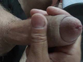 whipping up a little something for the cock lover who likes a close look and to see a  nice hot thick creamy load. Hope its to your taste?