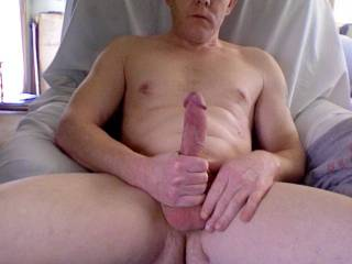stroking my big hard cock while watching videos on zoig!