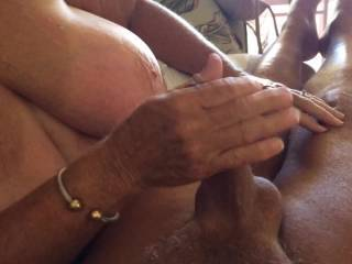 I enjoyed it but looks like you enjoyed it as well if not better. Lucky guy. She has very nice breasts too. mmm