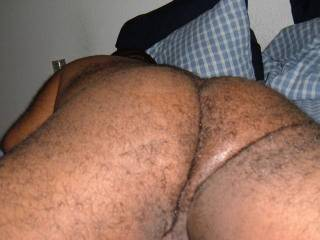 Hot hairy tight wet clean ass!