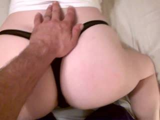 Just videoing my wife's so so delightful ass.
