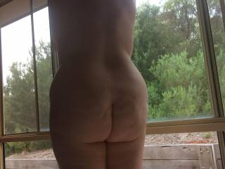 Sexy wife's arse