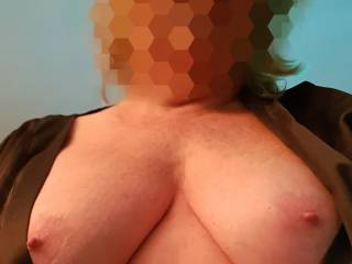 my wife tits!