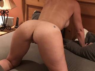 showing my ass and tan lines