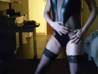 Dance for hubby in new outfit