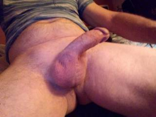 resting my cock before i stroke it again