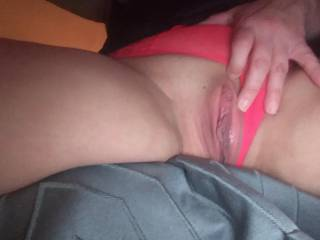 my pussy wet and up close