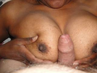 superb tits great nips to suck and play with