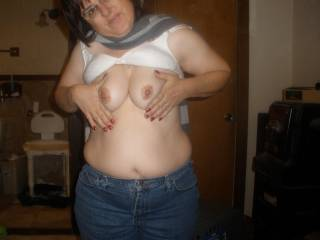 Oh how nice! I want to suck your tits!