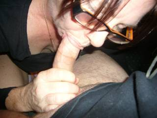 I just Luv sucking his cock..