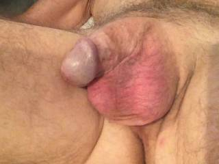 Love how there is a little precum at your cock head