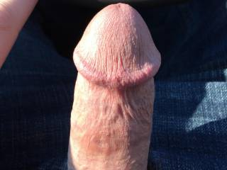 Nice cock....would love to give you road head