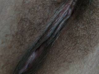 do you like this close up shot of my pussy... lick it, finger it, or....