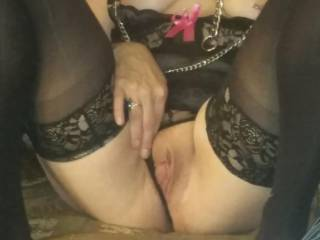 Love showing off my pussy. ..