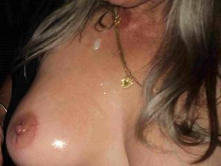 would love to cum on those beautiful tits