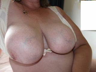 Showing all of you my tits. I send pics of my tits to some of my bf\'s friends. I love it... and so do they!