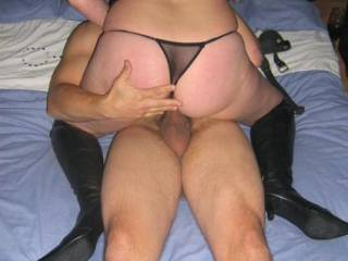 humm .. I love sex with a woman wearing panties
