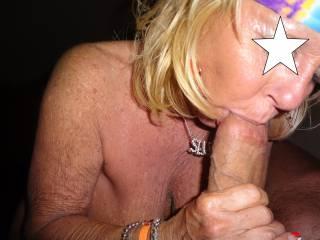 Blow Job Queen doin\' her thing...