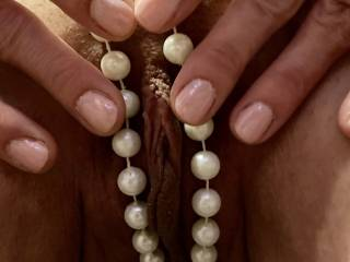 I need a thick hard cock between my pearls