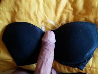 I love to see cock in bra cleavages, any chance of the bra being worn next time?
