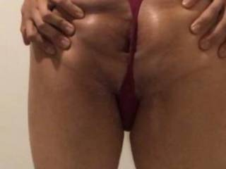 Spread my tight ass for a hard cock