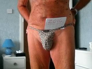 just love to wear this thong