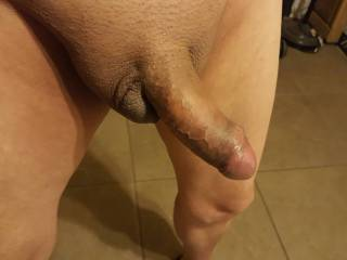 Would you like to roll your tongue on the tip of my cock?