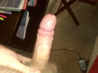 my hard cock. looking for some ladies that want to suck it =)