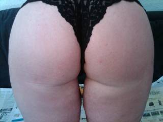 oh dam your lucky. wow what a great pic. dam fine butt. wow like to be holding them hips dam