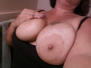 my big luscious breasts