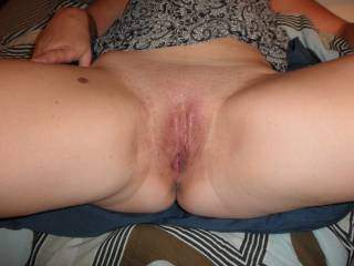 That very inviting pussy is such a turn on for me! Bring that pussy to me and i will stretch it with my thick and hard cock all the way down to the bottom! Wanna fuck you deep and hard!