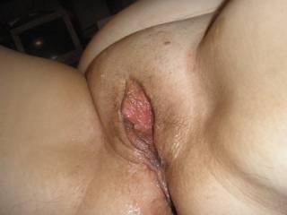 Wow I need to suck and nibble on the meaty pussy and then fuck it all day long.