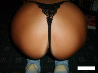 A PERFECT PEACHED ARSE.