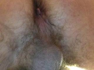 what a hot pic!!! I wanna kiss and lick that hairy asshole, and then slide my cock in to the hilt!!!!
